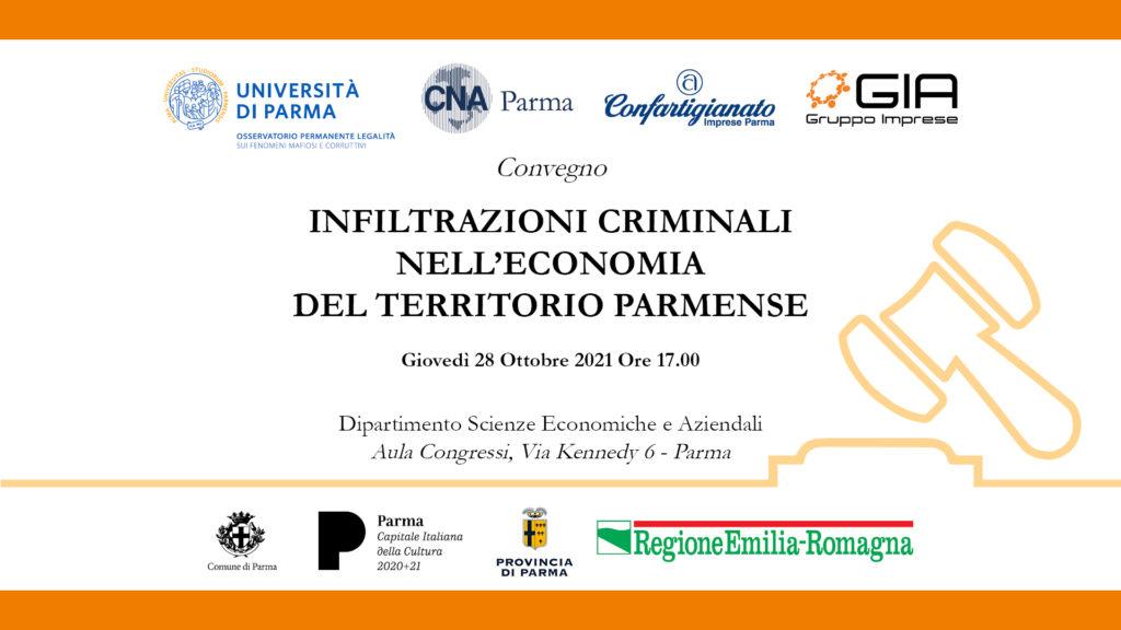 Infiltrazioni criminali nell'economia del territorio parmense